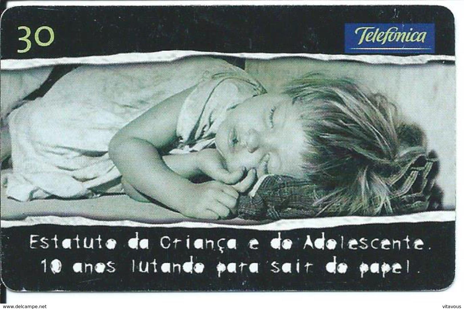 Enfant Télécarte Brésil Phonecard  (D 284) - Brésil