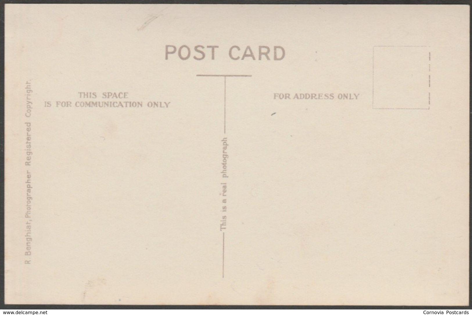 Arab Kiddies, Lehej, Aden, C.1920s - Benghiat RP Postcard - Yemen