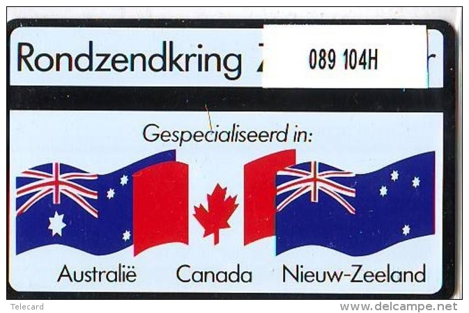 Telefoonkaart  LANDIS&GYR  NEDERLAND * RCZ.089  104H * Rondzendkring Zoetermeer * TK * ONGEBRUIKT * MINT - Nederland