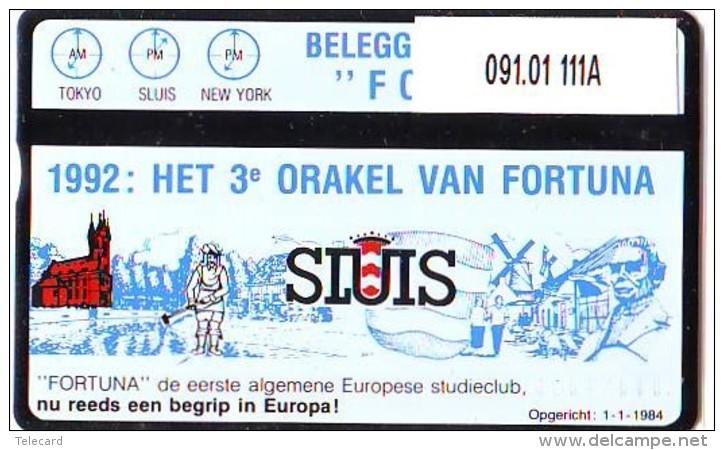 Telefoonkaart  LANDIS&GYR  NEDERLAND * RCZ.091.01  111A * Fortuna 1 * TK * ONGEBRUIKT * MINT - Nederland