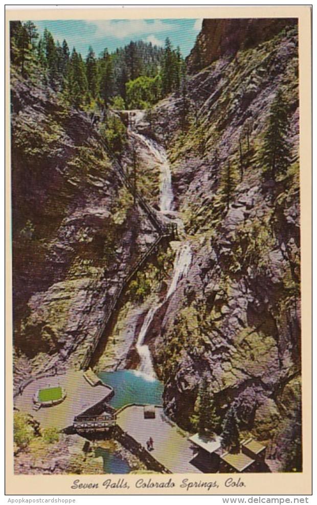 Colorado Colorado Springs Seven Falls