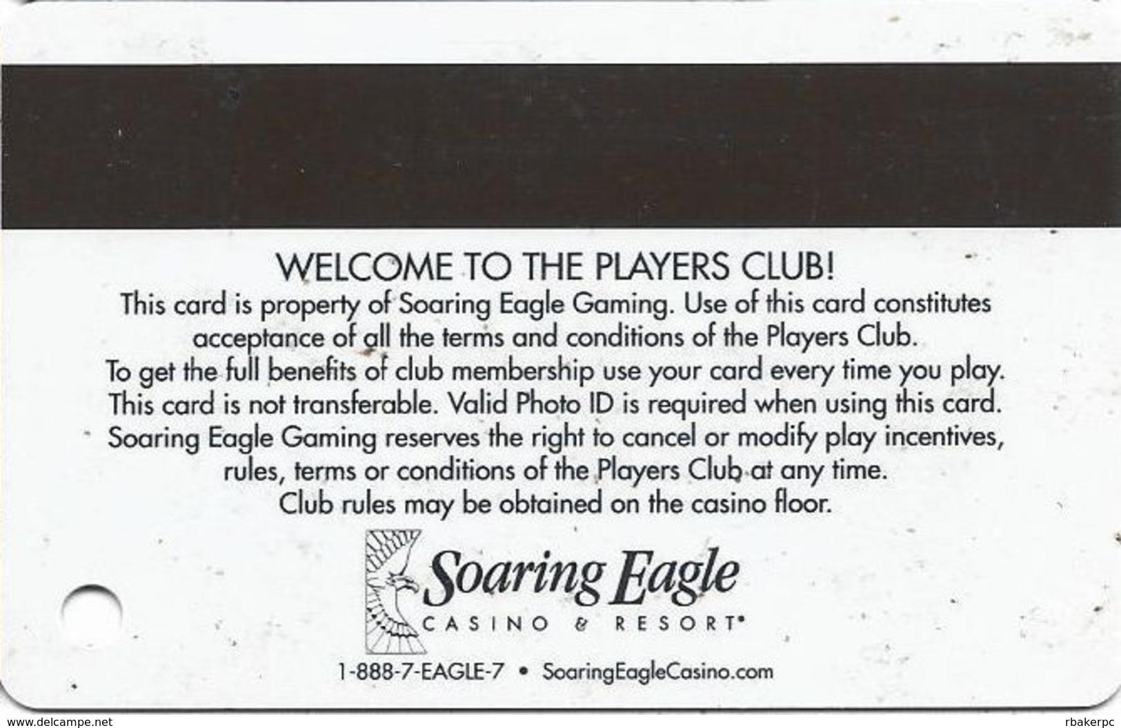 Soaring Eagle Casino - Mt. Pleasant, MI USA - Slot Card - Casino Cards