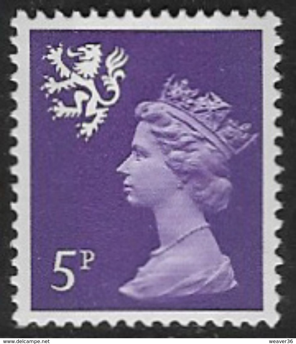 Scotland SG S20 1971 5p Unmounted Mint [16/15190/25D] - Regional Issues
