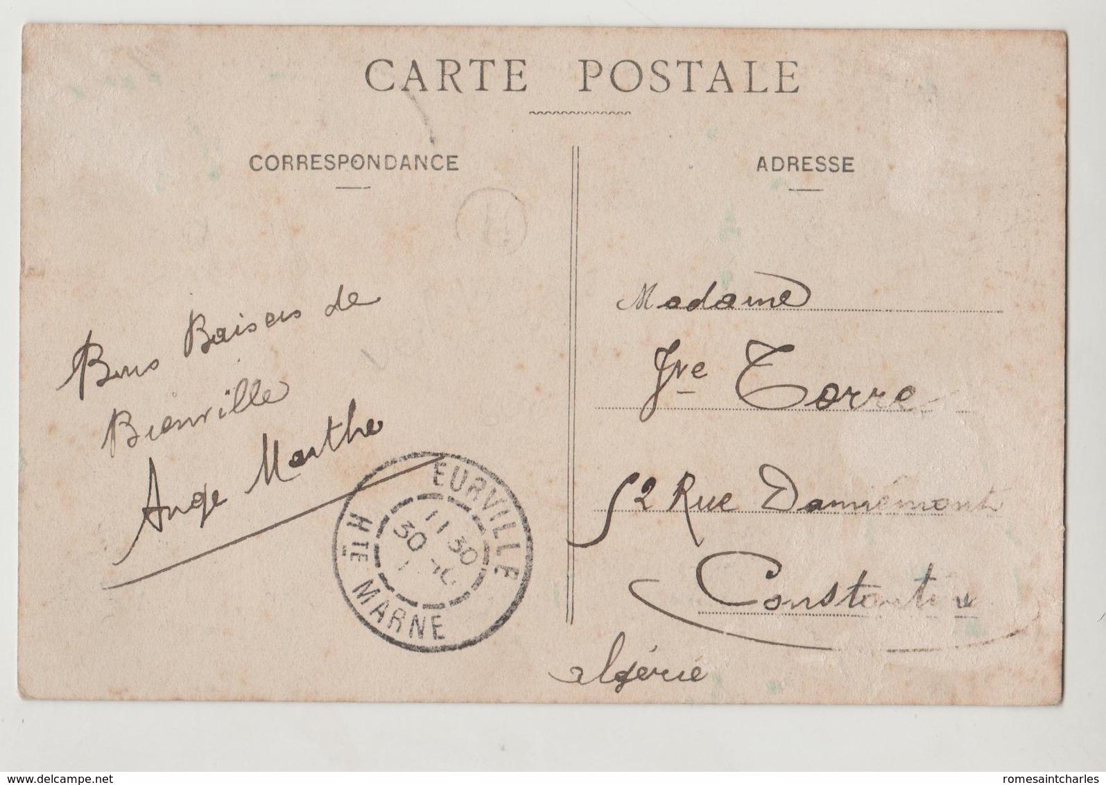 CPA 52 BIENVILLE Rue Des Cailloux - France