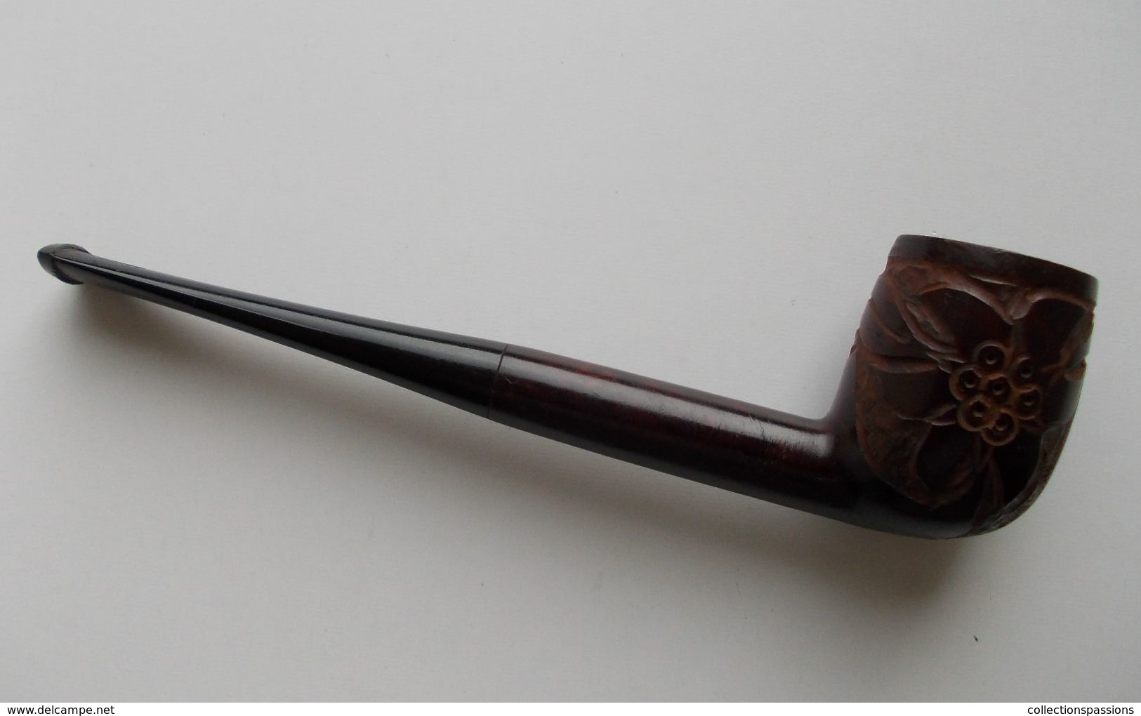 - Ancienne Pipe - Monaco - Pipe Sculptée - - Heather Pipes