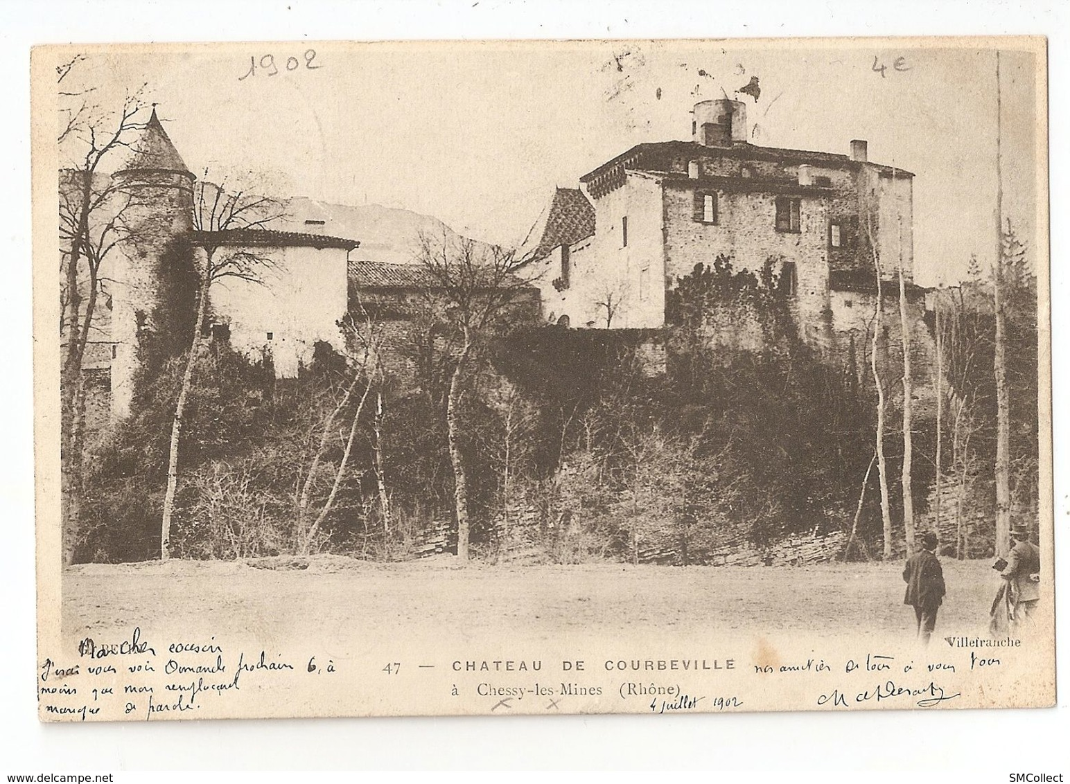 69 Chessy Les Mines, Chateau De Courbeville (2020) - France