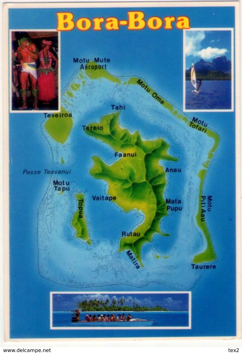 Tahiti. Bora Bora. VG. - Tahiti