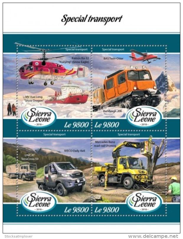 Sierra Leone  2018 Special Transport S201802 - Sierra Leone (1961-...)