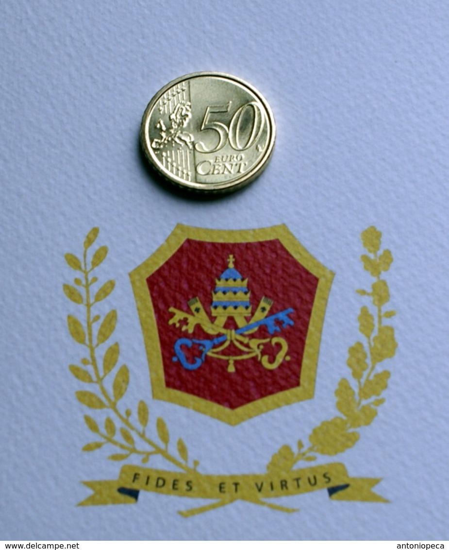 VATICANO 2017, THE 50 CENT COIN - Vatican