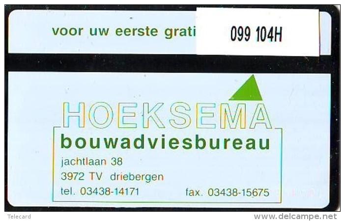 Telefoonkaart  LANDIS&GYR  NEDERLAND * RCZ.099  104H * Hoeksema 1 * TK * ONGEBRUIKT * MINT - Privé