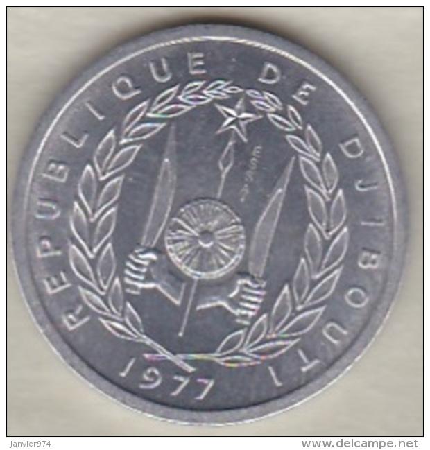 DJIBOUTI 1 FRANC ESSAI 1977 KM# E 1 - Djibouti
