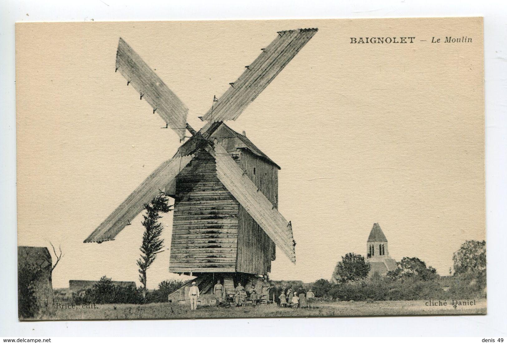 Moulin Vent  Baignolet - France