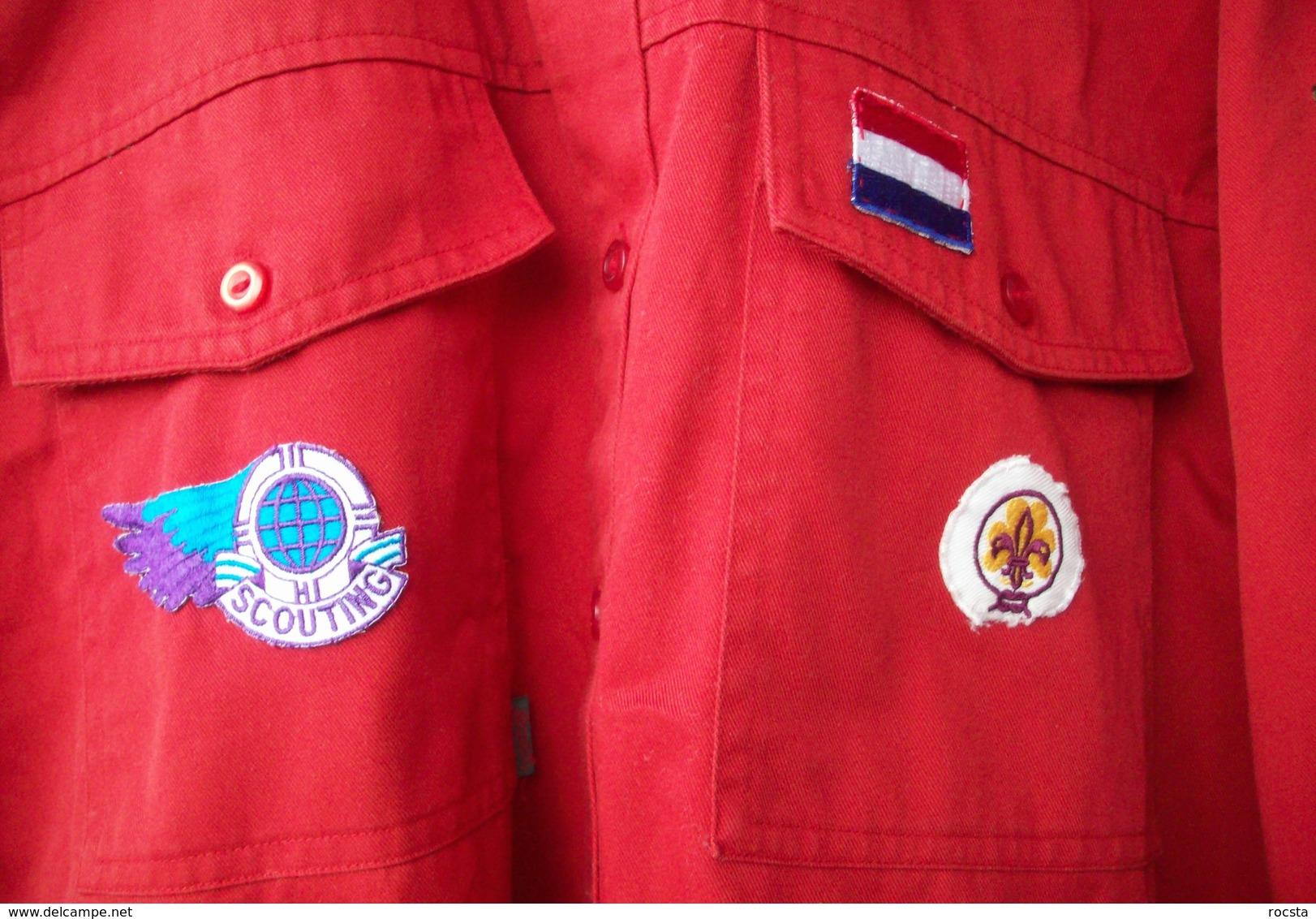 Netherlands Scouts Shirt - 12 Patches - Padvinderij