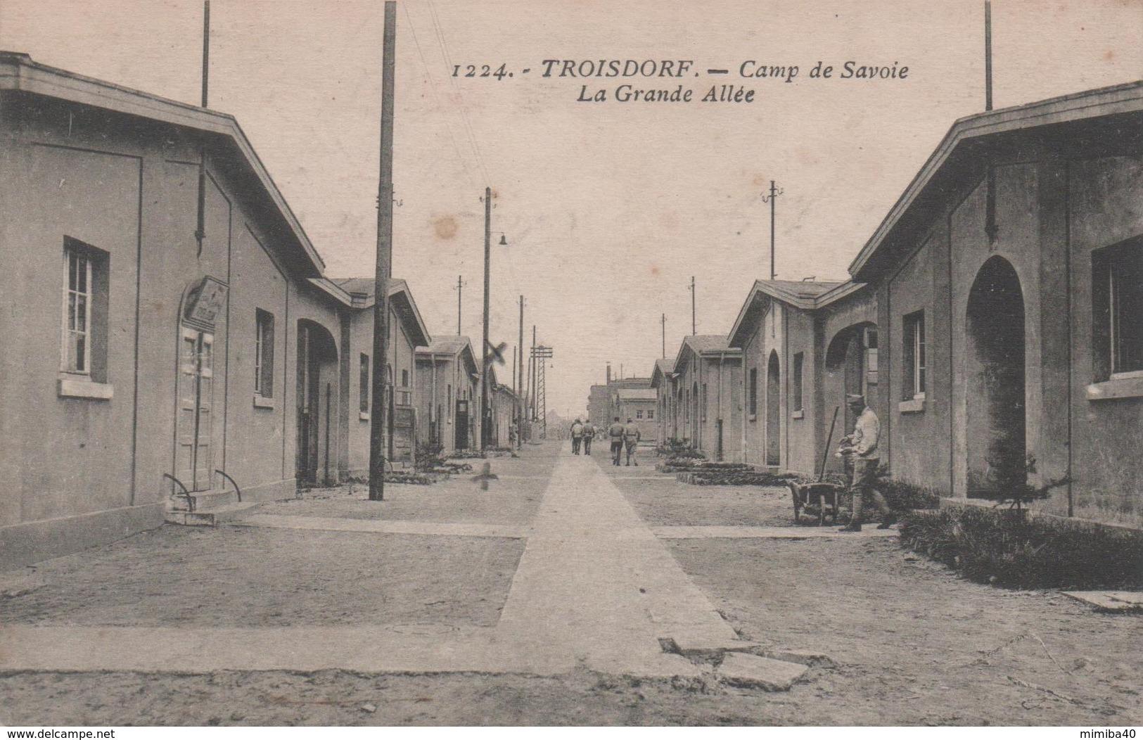 TROISDORF - Camp De Savoie - La Grande Allée - - Troisdorf
