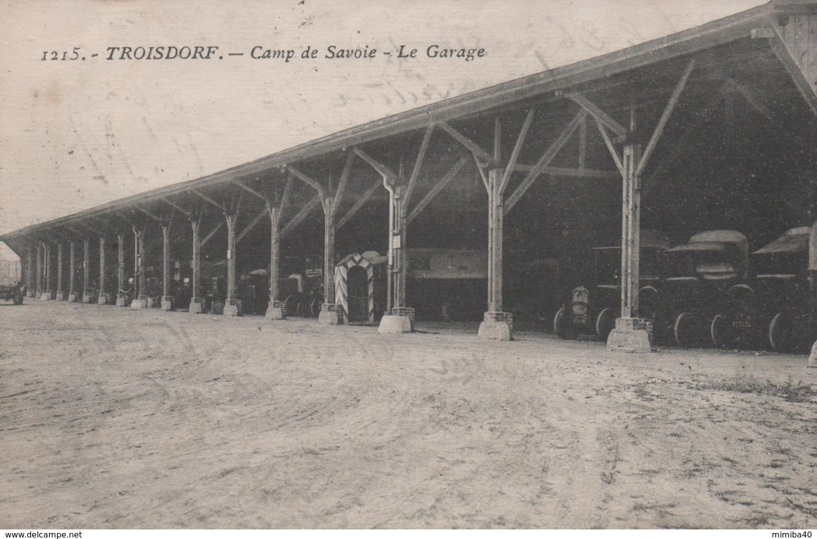 TROISDORF - Camp De Savoie - Le Garage - - Troisdorf