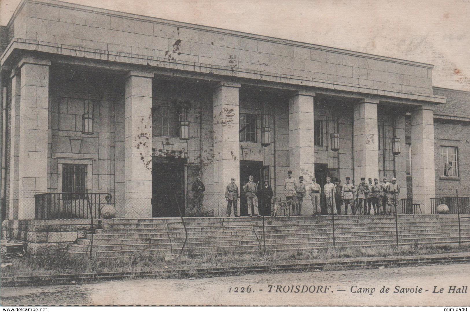 TROISDORF - Camp De Savoie - Le Hall - - Troisdorf