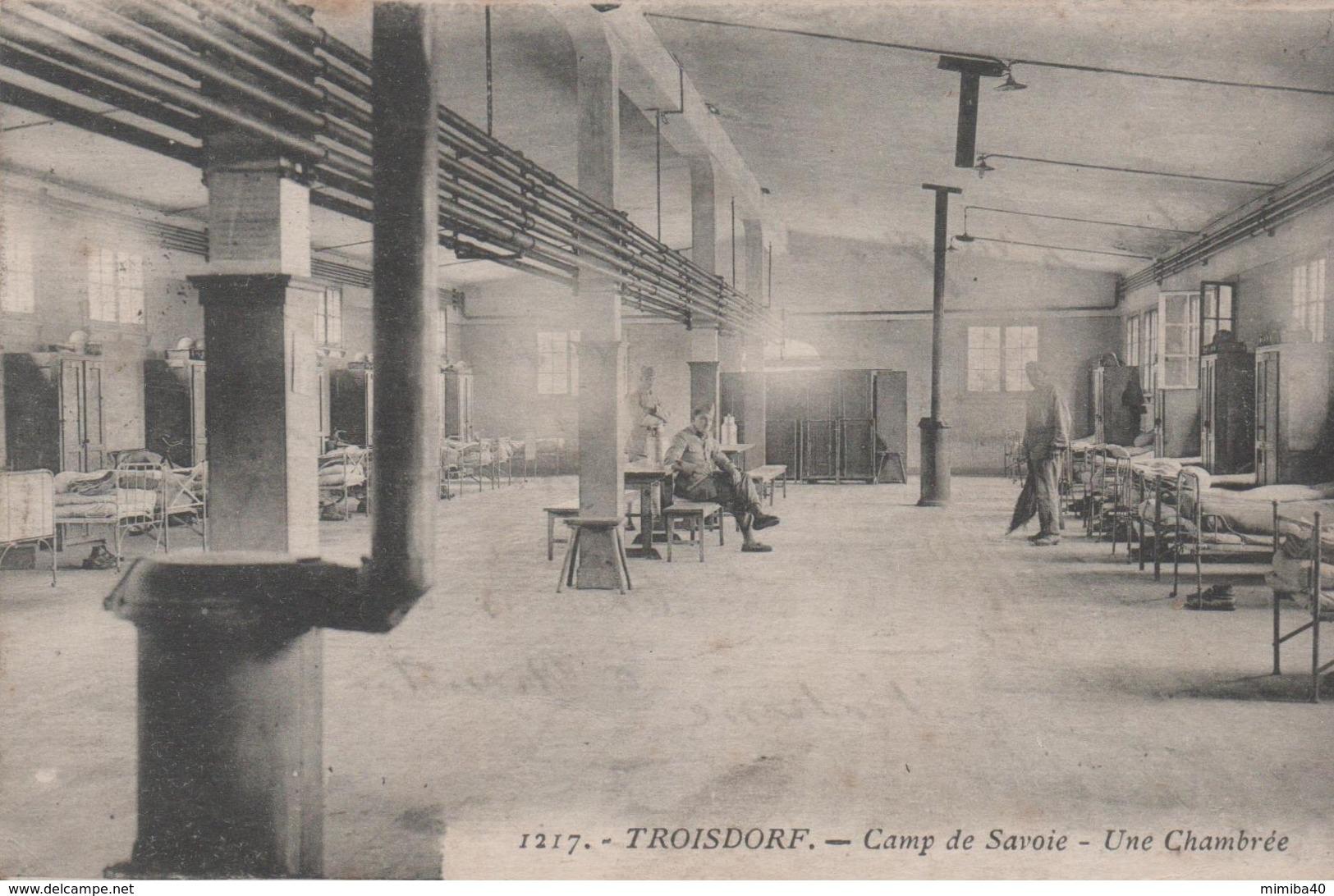 TROISDORF - Camp De Savoie - Une Chambrée - - Troisdorf