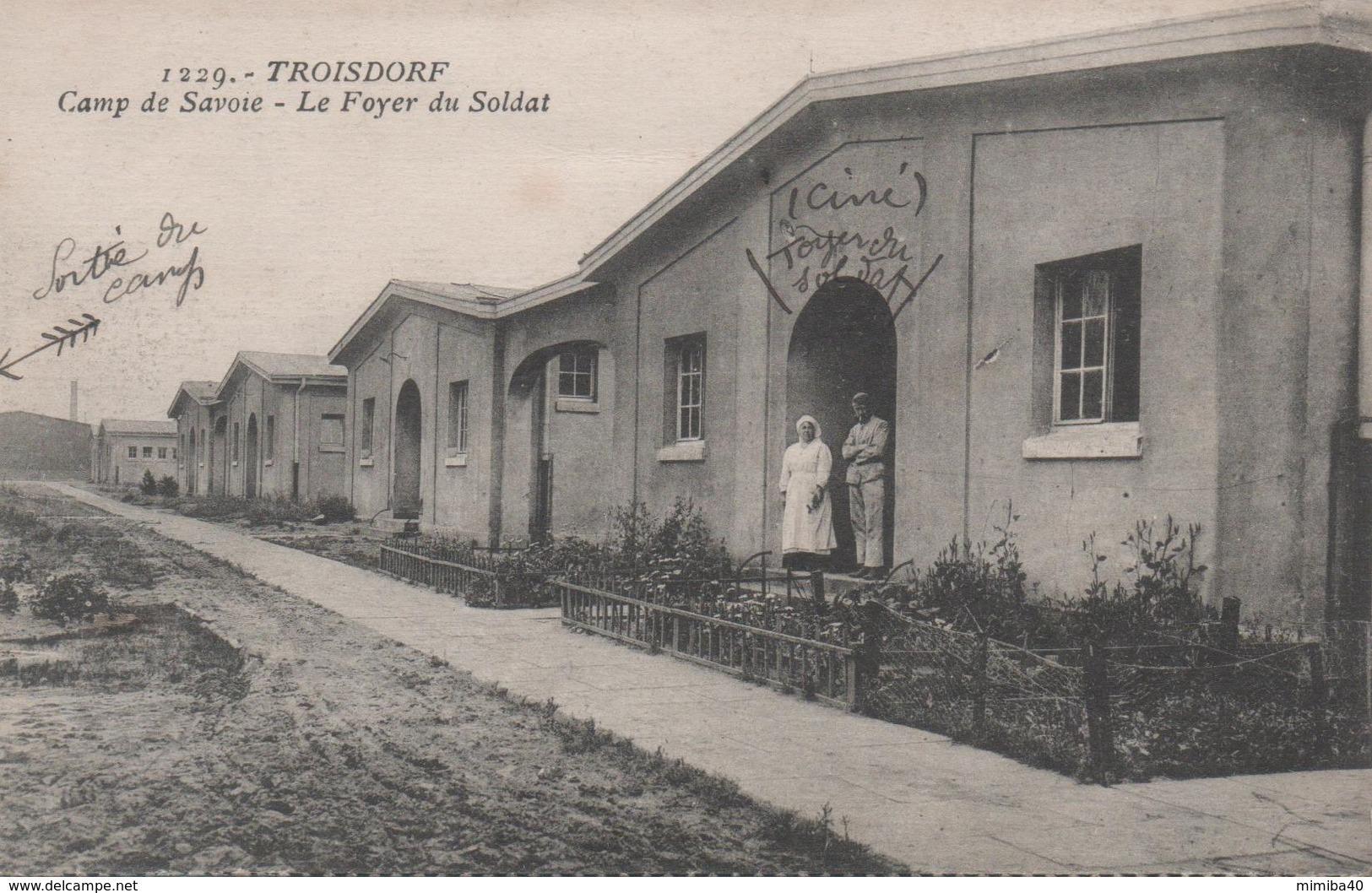 TROISDORF - Camp De Savoie - Le Foyer Du Soldat - - Troisdorf