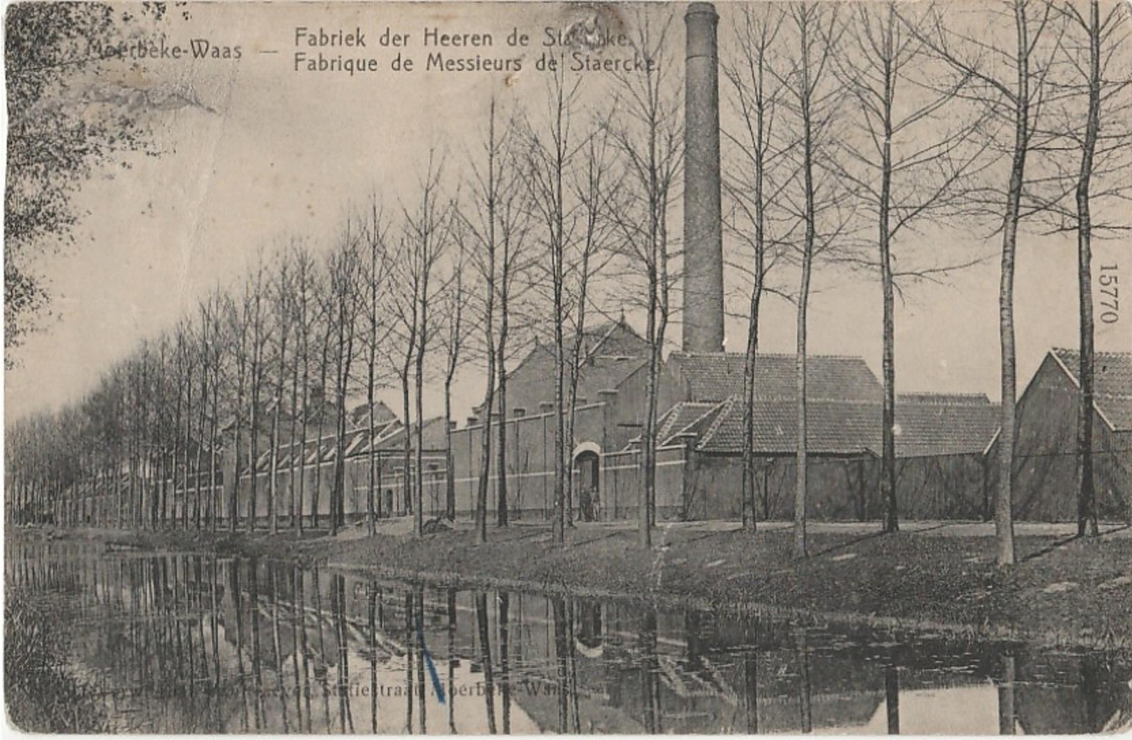 MOERBEKE WAAS Fabriek Der Heeren De Staercke - Moerbeke-Waas