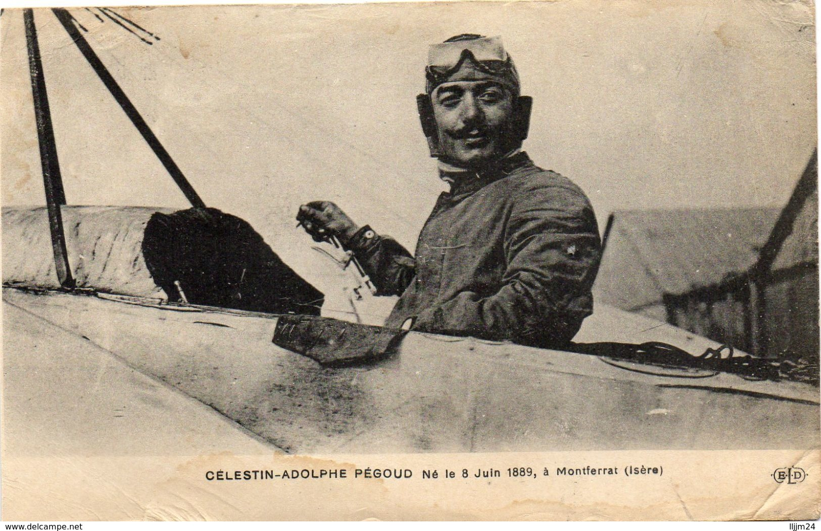 -Célestin-Adolphe PEGOUD - Né Le 8Juin 1889 - - Aviateurs