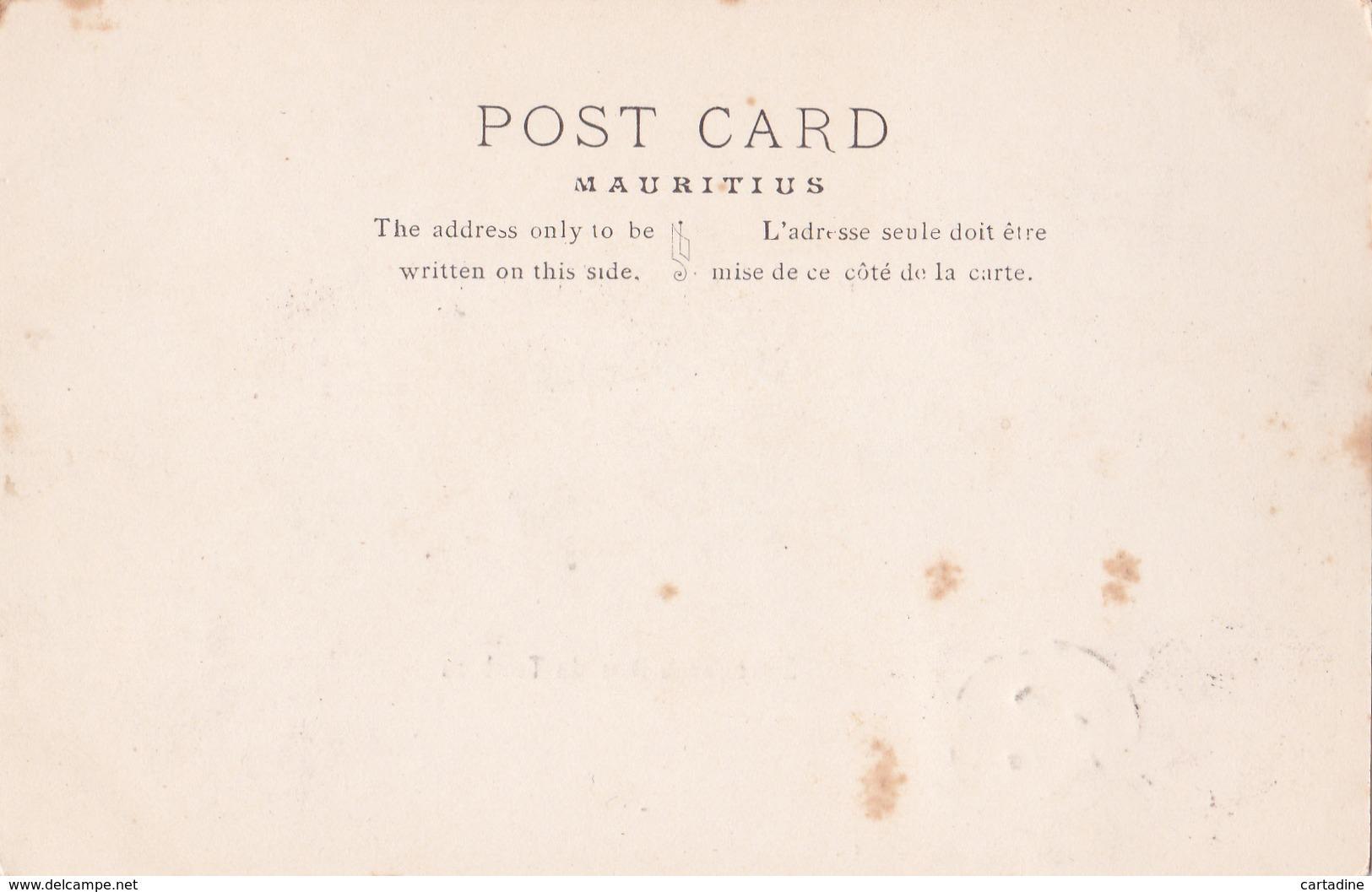 CPA - Maurice / Mauritius - Entrée De La Baie Du Tombeau - 1906 - Maurice