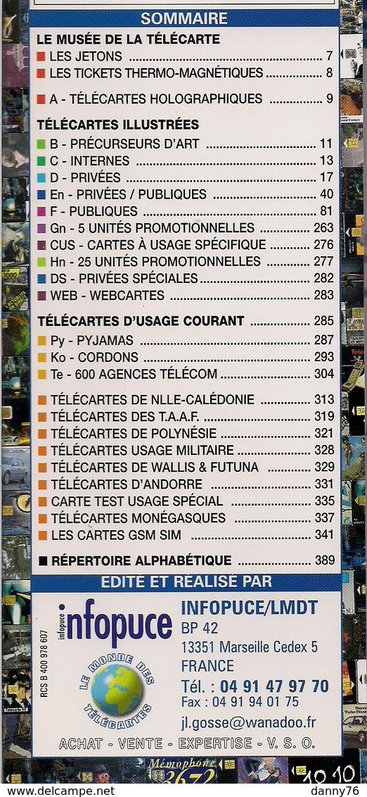 PHONECOTE  *  LA BIBLE DU COLLECTIONNEUR *  15ème EDITION - ANNEE 2 0 0 4  * - Kataloge & CDs