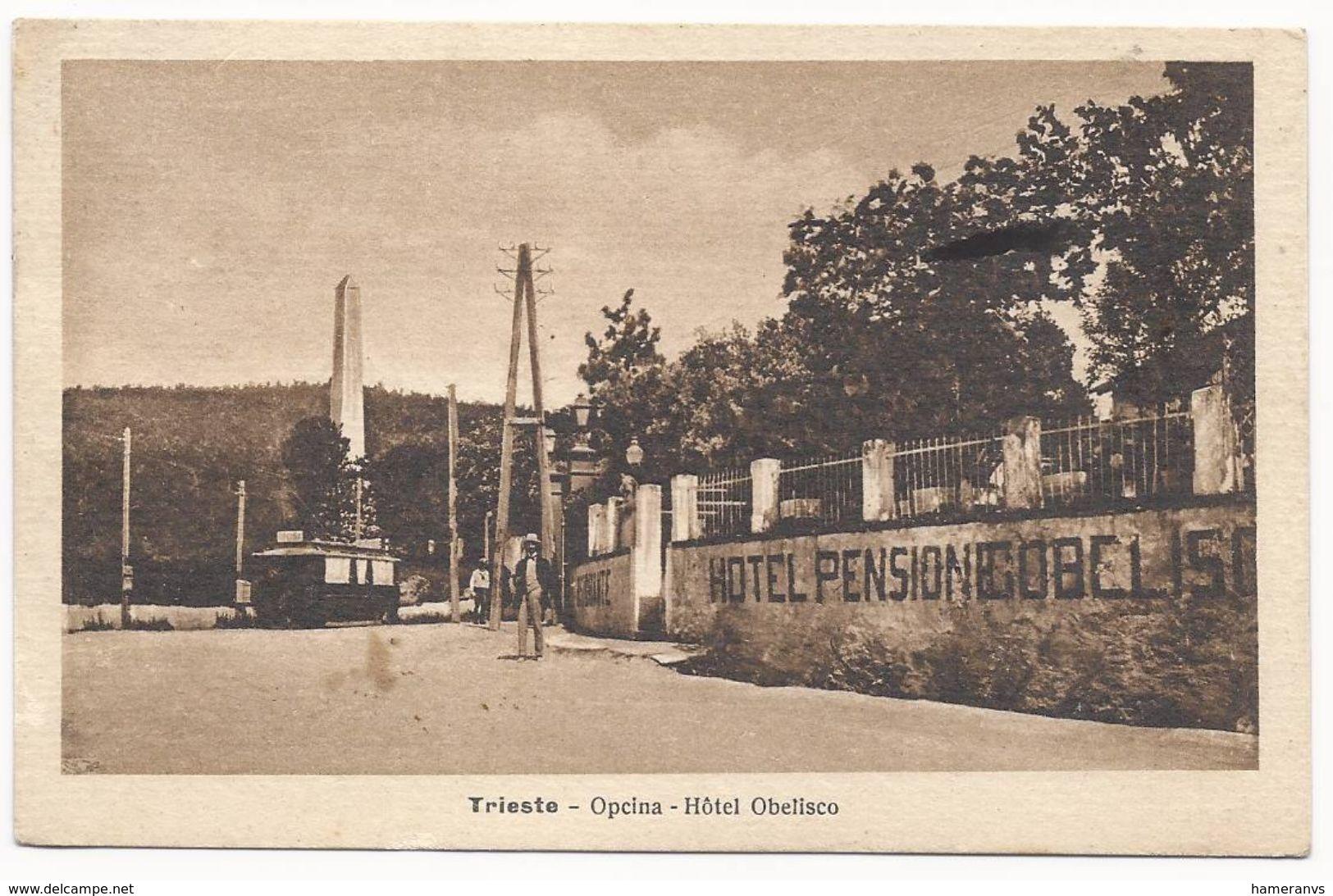 Trieste - Opcina - Hotel Obelisco - HP1219 - Trieste