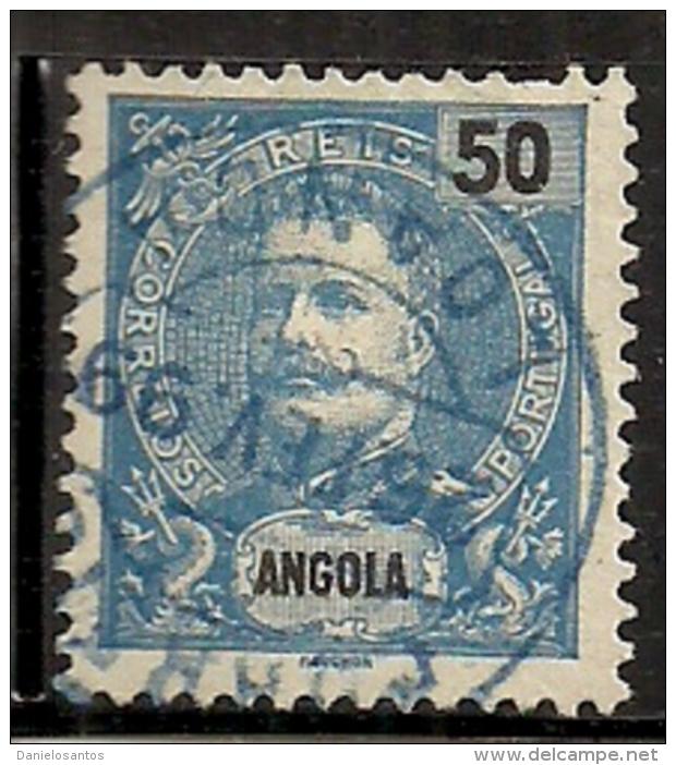 Angola 1898-1903 King Carlos A5 Canc - Celebrità