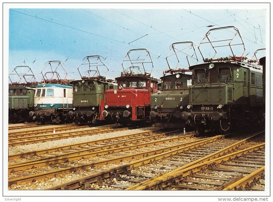 DB - Parade Der Elektro-Lokomotiven - Trains