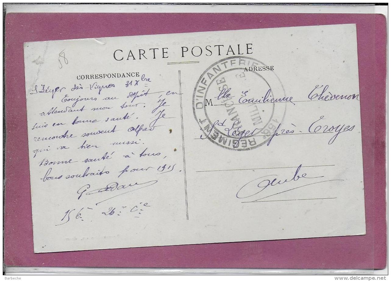 58.- SAINT6LEGER DES VIGNES .- Le Barrage  ( Cachet Au Dos - France