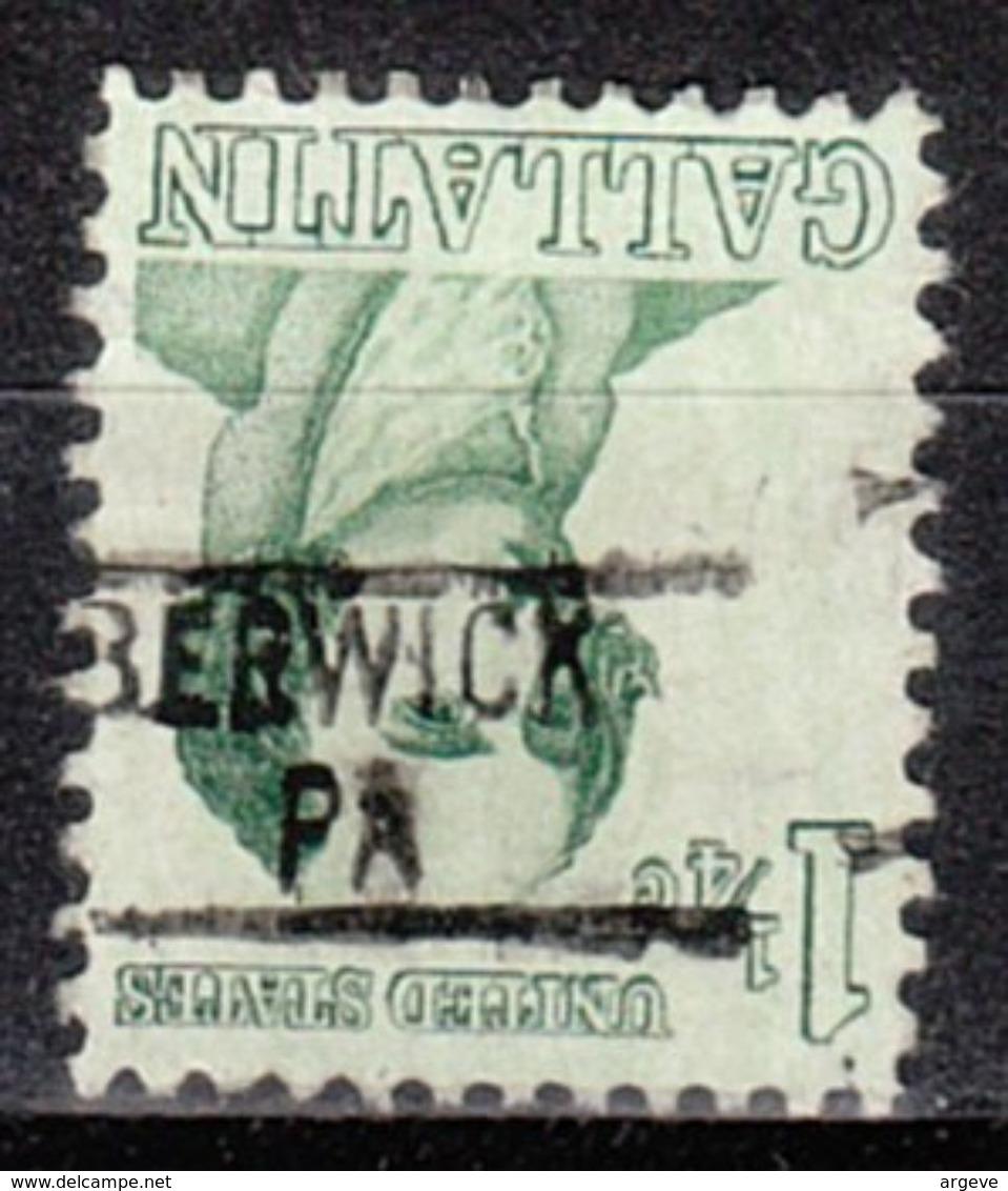 USA Precancel Vorausentwertung Preo, Locals Pennsylvania, Berwick 839 - Vorausentwertungen