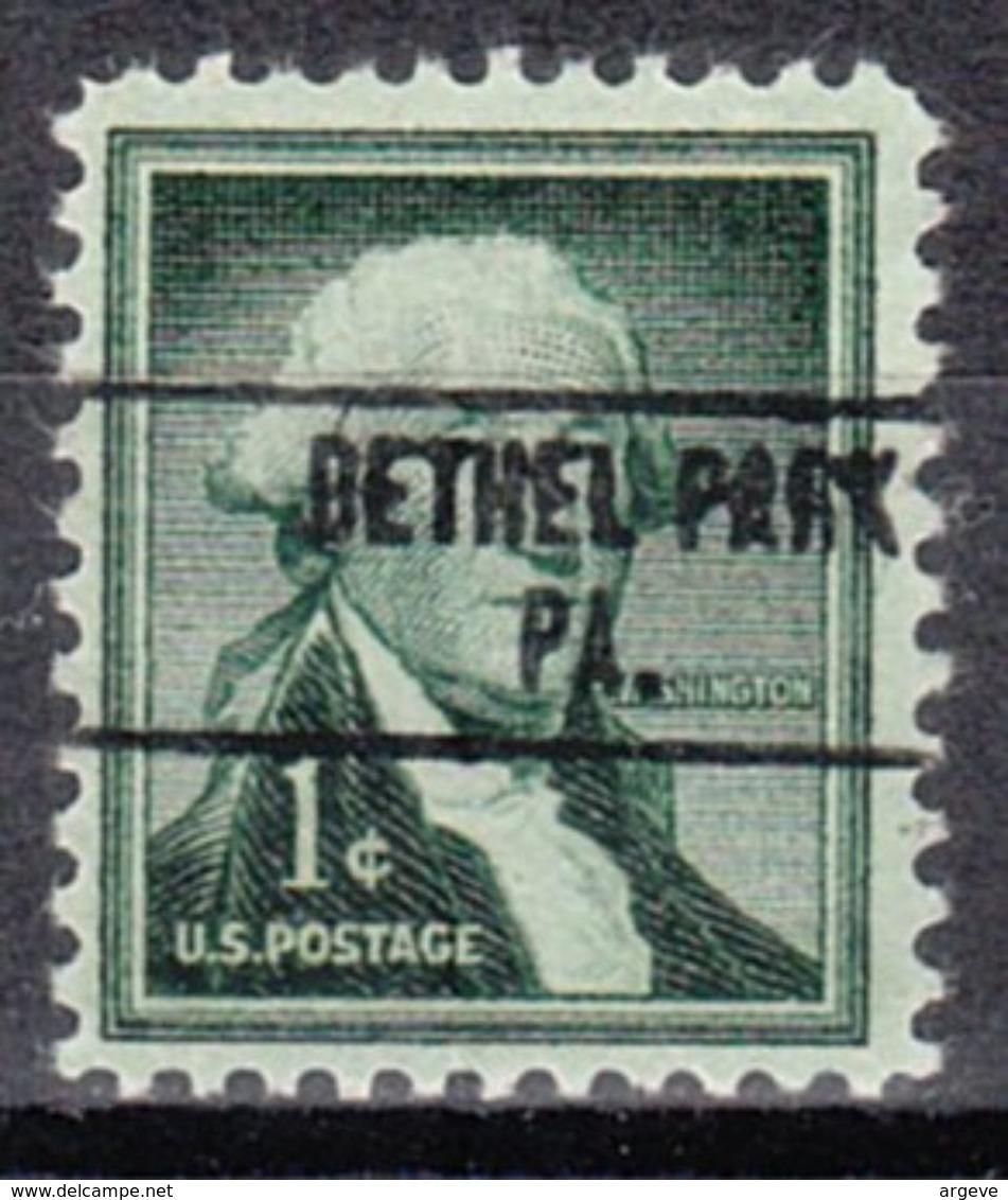 USA Precancel Vorausentwertung Preo, Locals Pennsylvania, Bethel Park 748 - Vereinigte Staaten