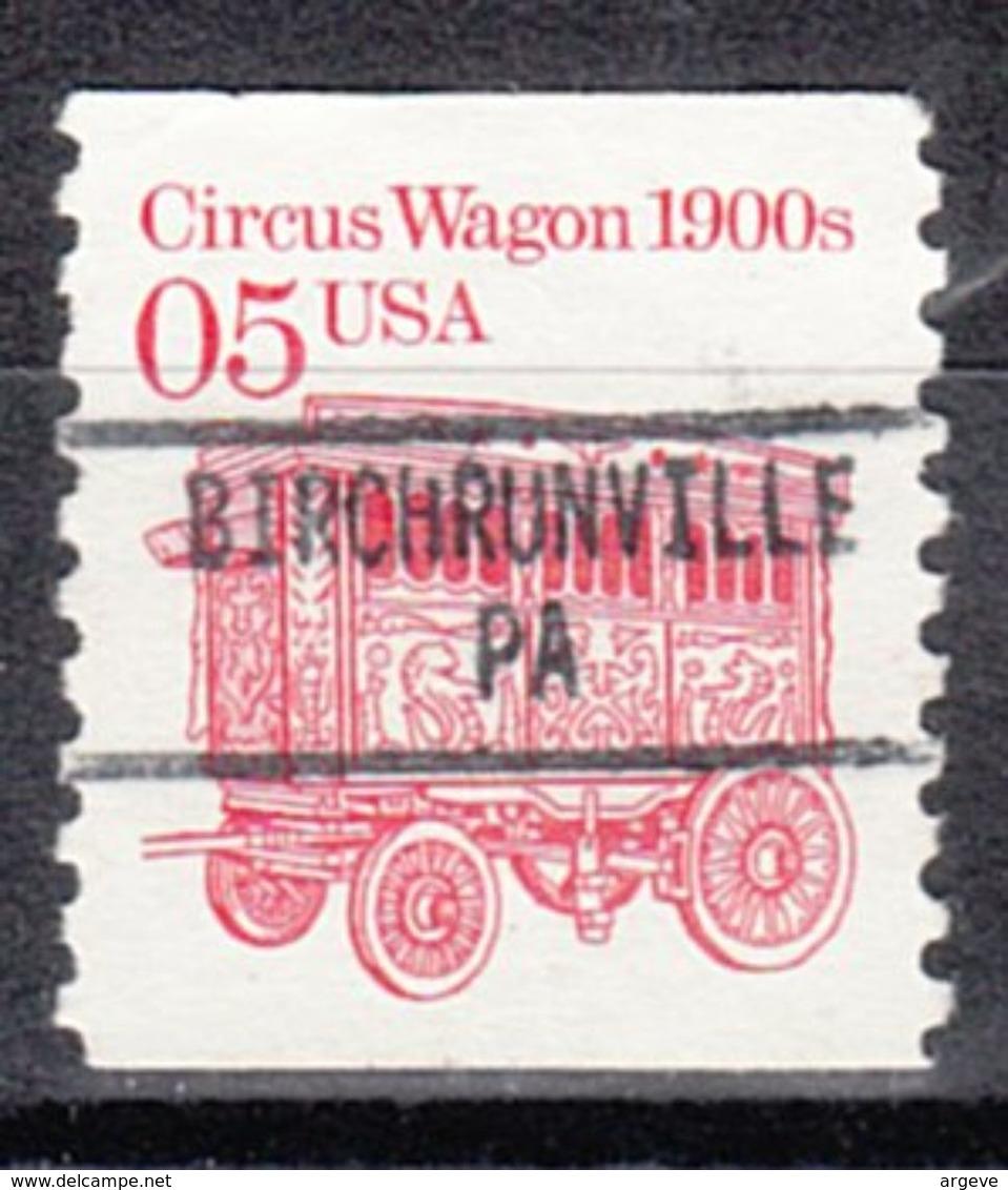 USA Precancel Vorausentwertung Preo, Locals Pennsylvania, Birchrunville 895 - Vereinigte Staaten