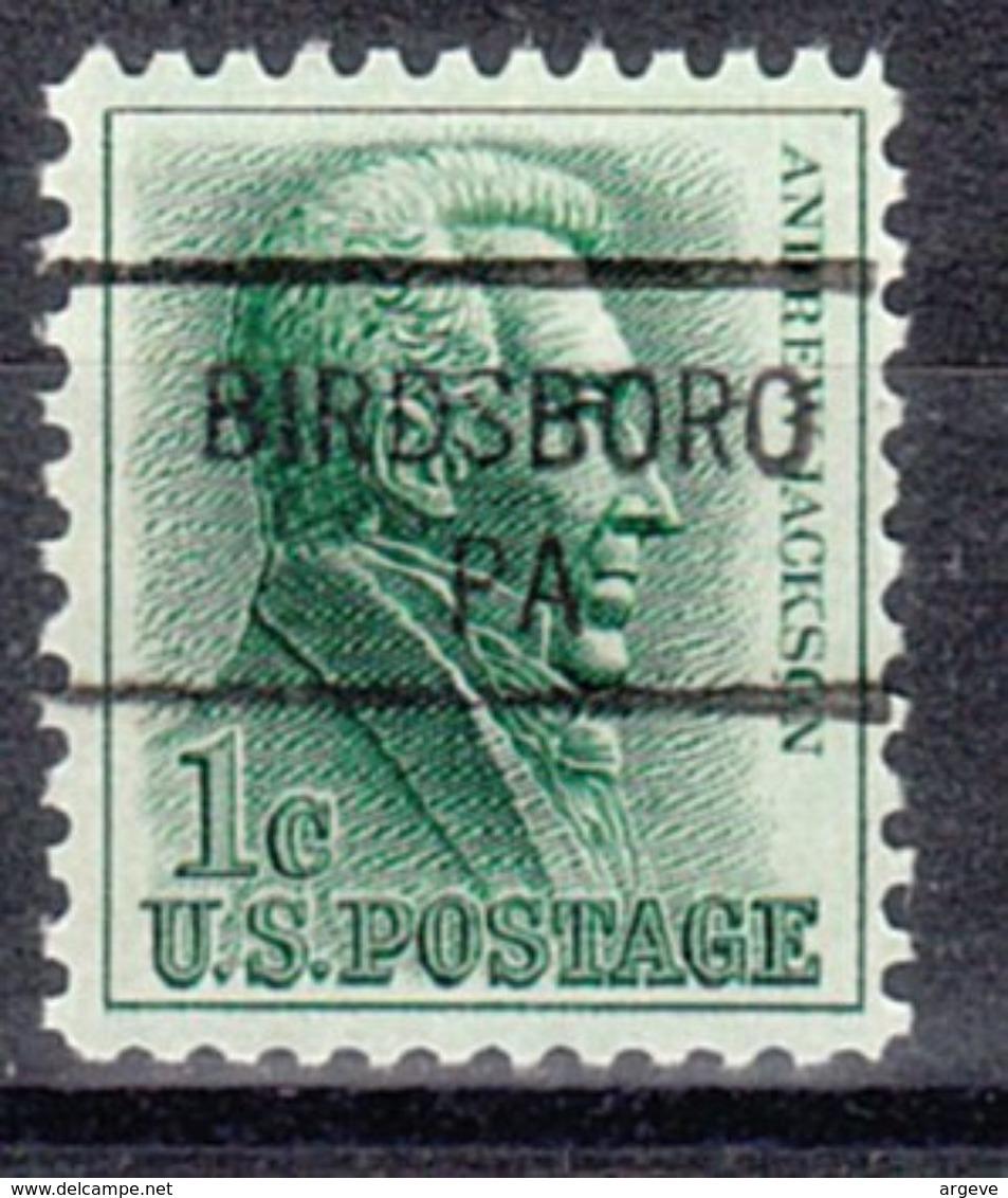 USA Precancel Vorausentwertung Preo, Locals Pennsylvania, Birdsboro 841 - Vorausentwertungen