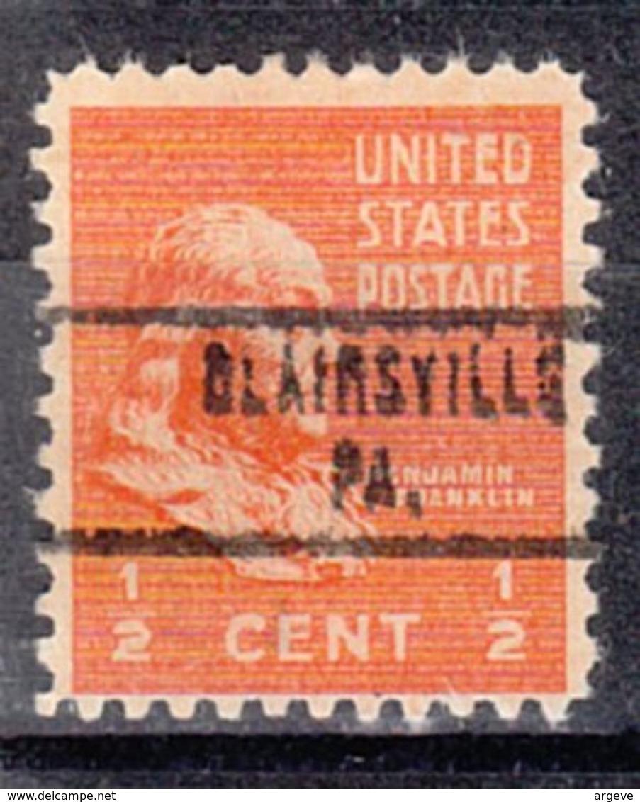 USA Precancel Vorausentwertung Preo, Locals Pennsylvania, Blairsville 748 - Vereinigte Staaten