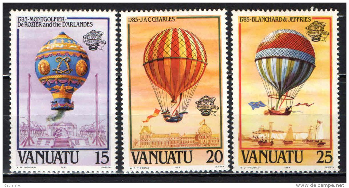 VANUATU - 1983 - Balloons - MH - Vanuatu (1980-...)
