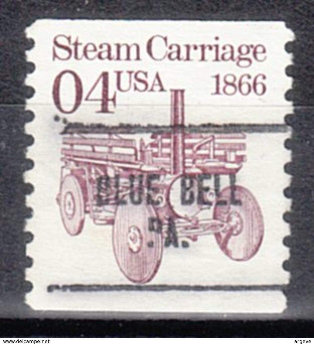USA Precancel Vorausentwertung Preo, Locals Pennsylvania, Blue Bell 704 - Vereinigte Staaten