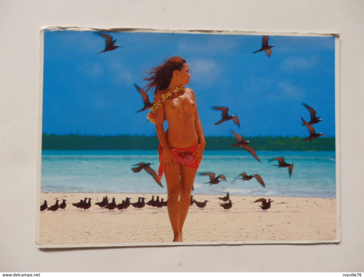 """Cpsm De Nue Collection """"Filles Des Mers Du Sud"""" Tahiti. - Humour"""