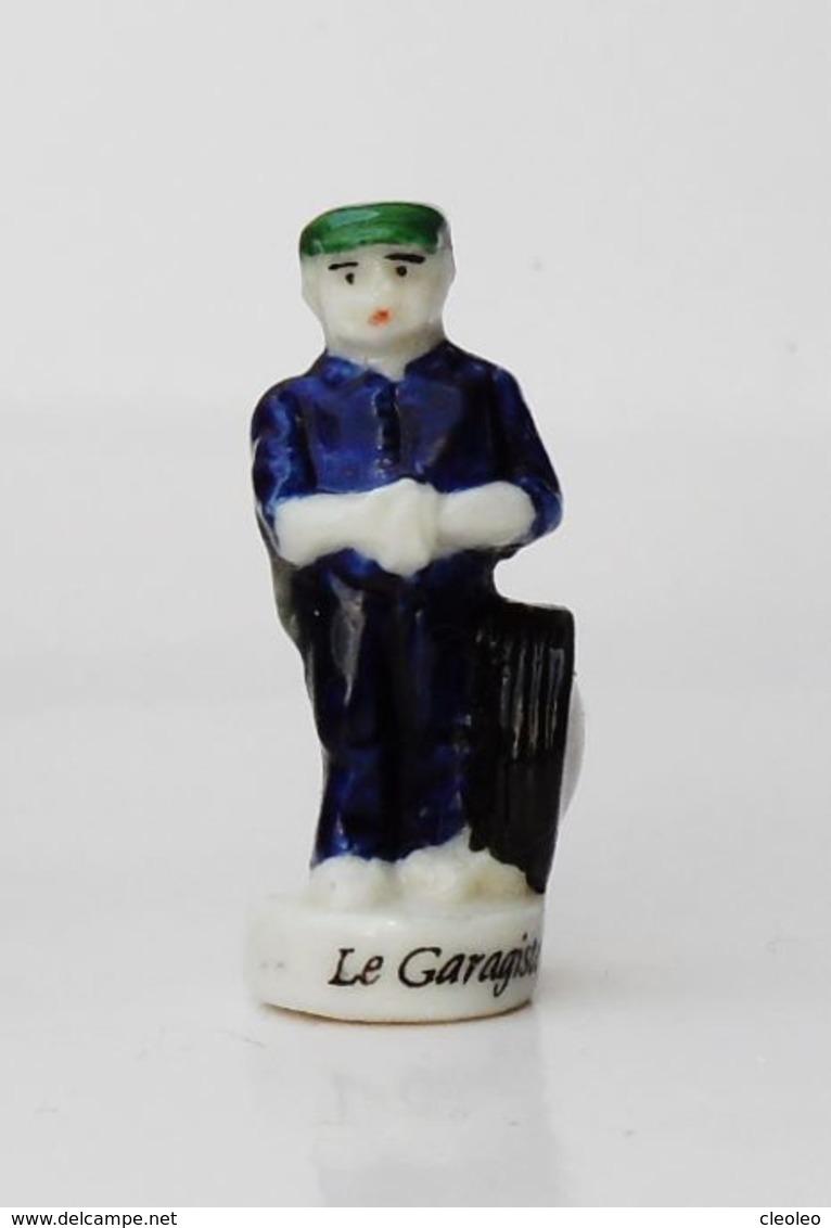 Fève Le Garagiste Les Villageois 1998 - Santons