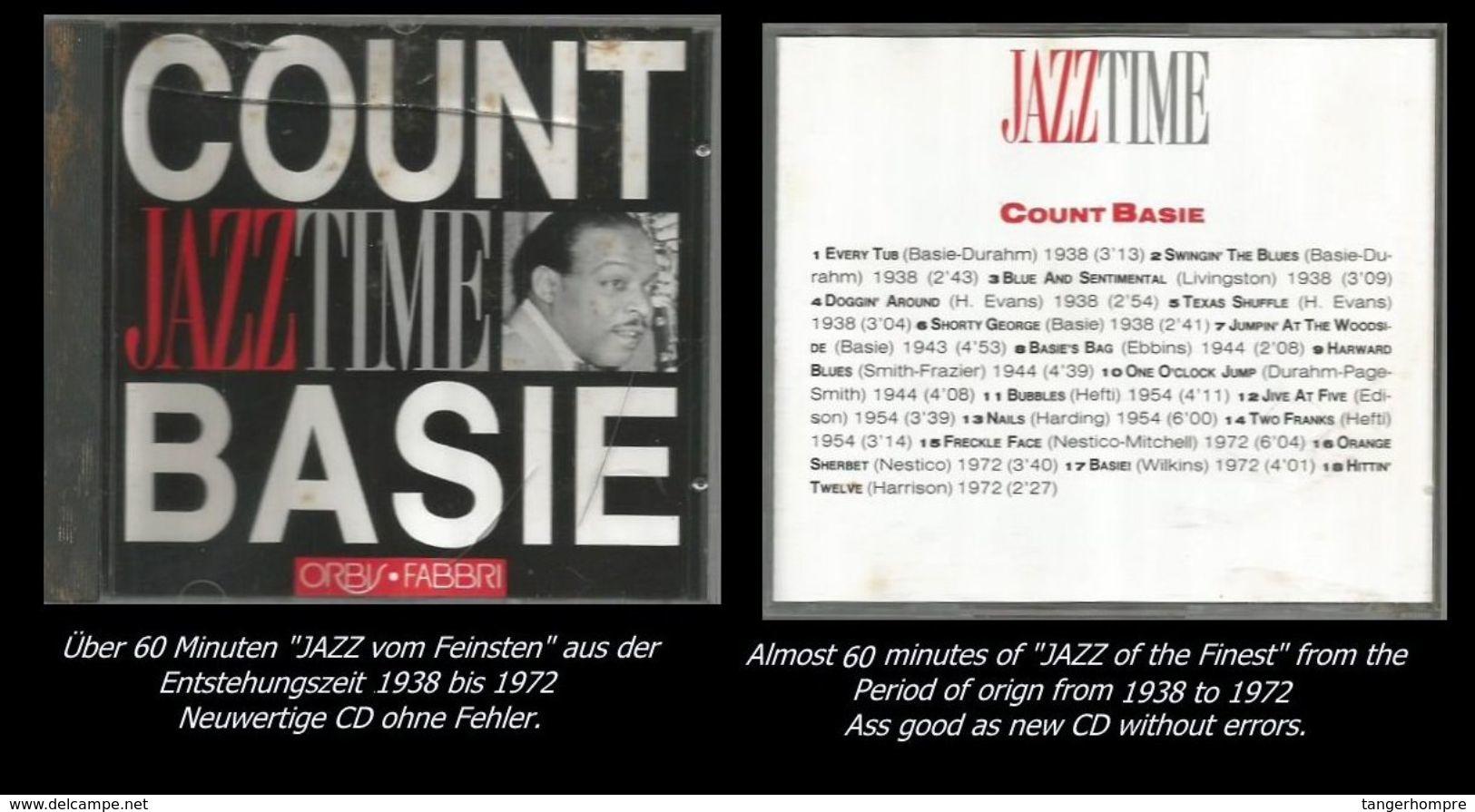 60 Minuten Jazz Von Count Basie - Jazz Of Finest - From 1938 To 1972 - Jazz