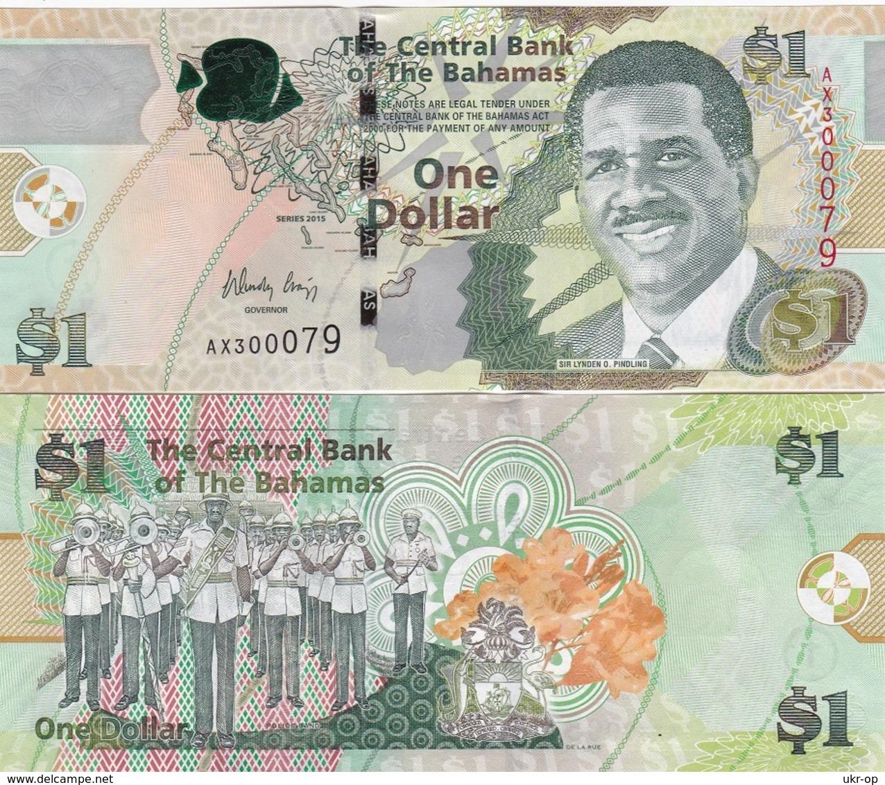 Bahamas - 1 Dollar 2015 UNC Ukr-OP - Bahamas