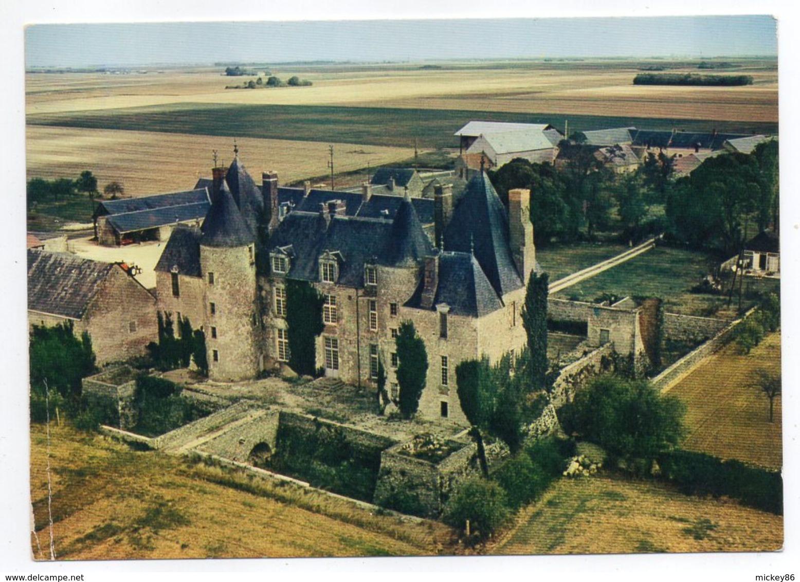 Près Orgères En Beauce--TERMINIERS--Vue Aérienne,Chateau De Villepon - Otros Municipios