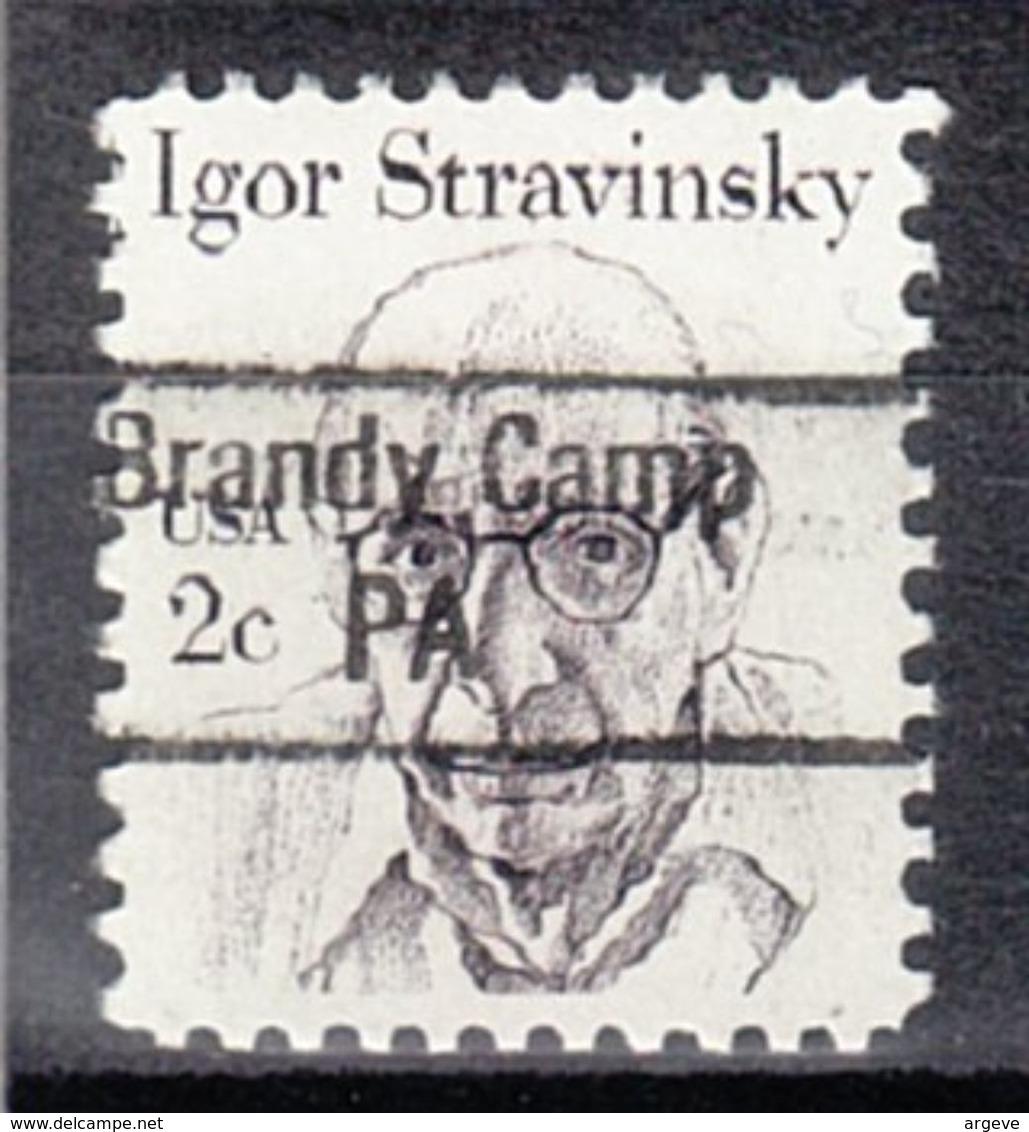 USA Precancel Vorausentwertung Preo, Locals Pennsylvania, Brandy Camp 843 - Vereinigte Staaten