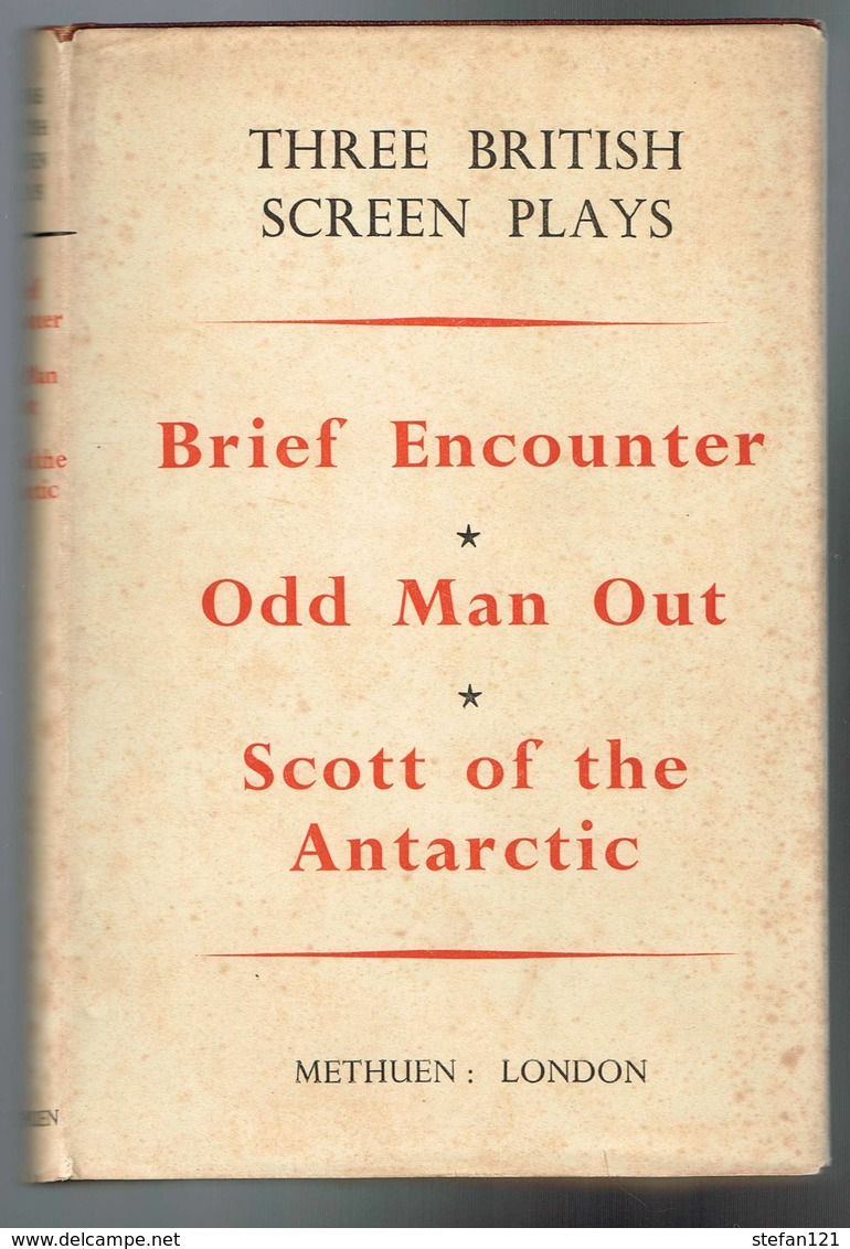 Brief Encounter - Odd Man Out - Scott Of The Antartic - 1950 - 300 Pages 19,2 X 13 Cm - Livres, BD, Revues