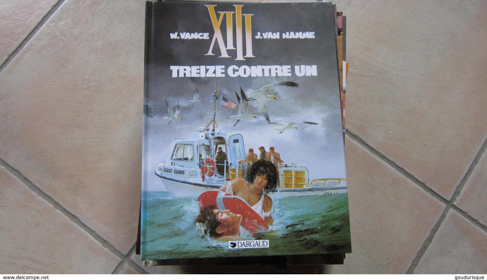 XIII  T8 TREIZE CONTRE UN      VAN HAMME VANCE - XIII