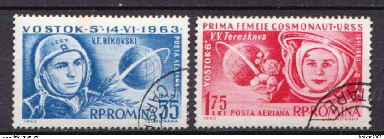 Romania Used Set - Space