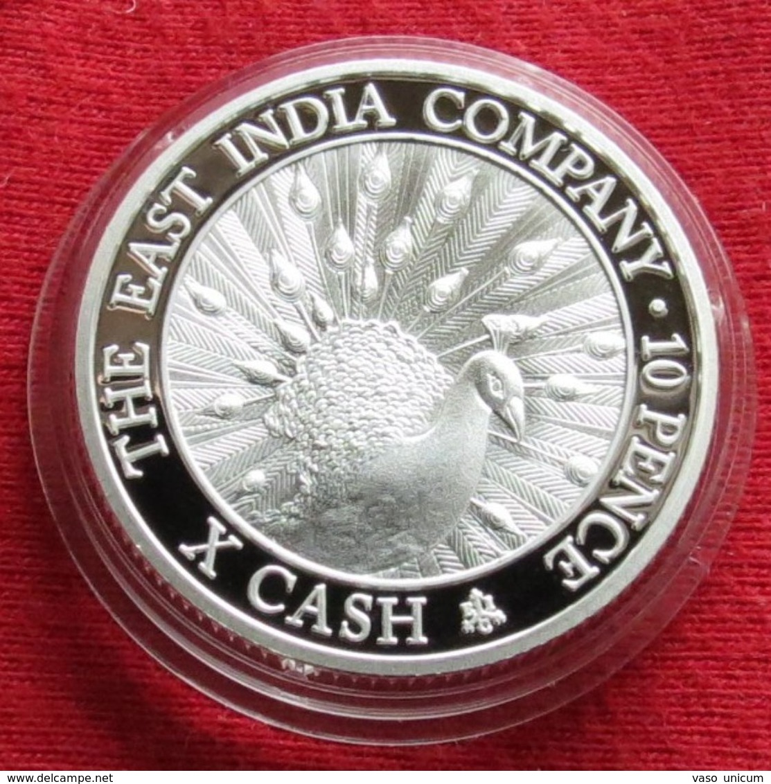 Santa Helena Ascension 10 Pence 2012 X Cash East India Company - Ascensione