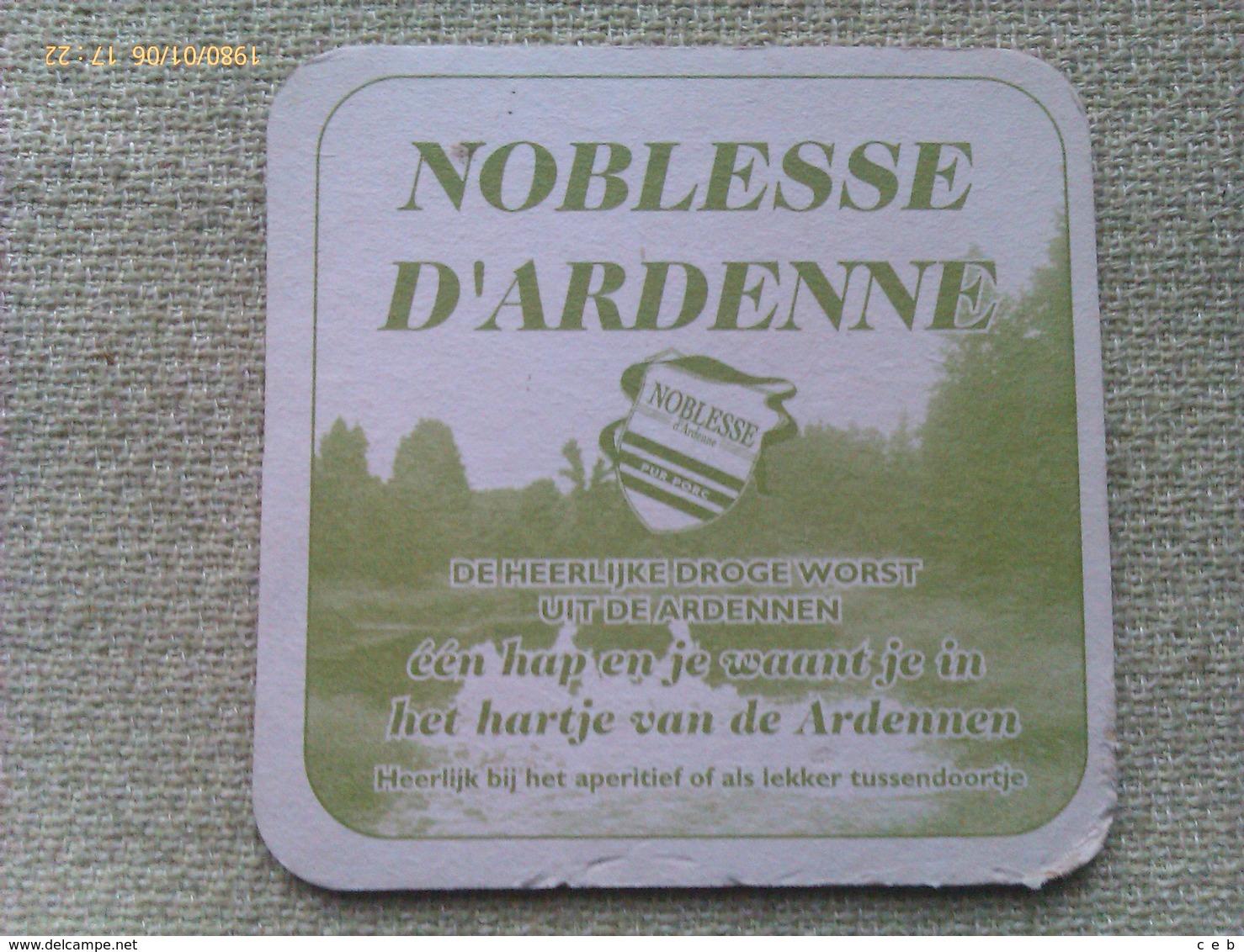 Posavasos Cerveza Chouffe. Bélgica. Años '90 - Portavasos