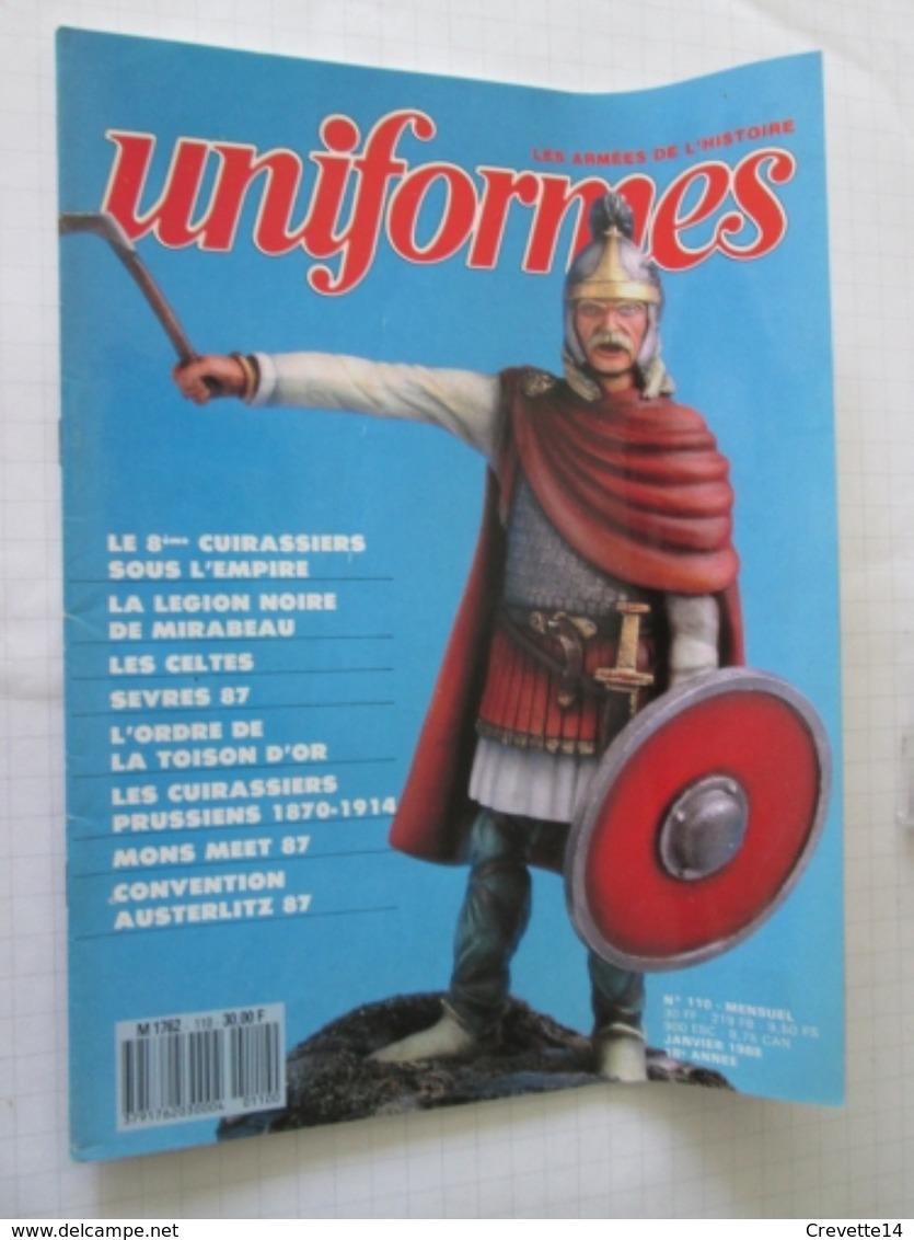 GA ZU Revue Uniformologie Militaria GAZETTE DES UNIFORMES N°110 , Sommaire En Photo 2 , Format A4 ,valait Quand Même 30 - Uniforms
