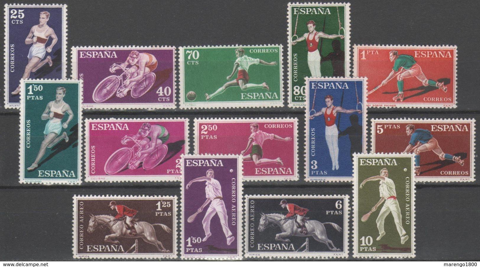 Spagna 1960 - Sport + P.a. **       (g5215) - Francobolli
